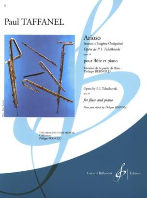 Arioso Extr. Eugène Oneguine Op. 24 Paul Taffanel laflutedepan