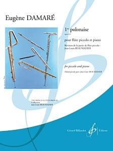 Eugène Damaré - 1ère Polonaise Op. 225 - Partition - di-arezzo.fr