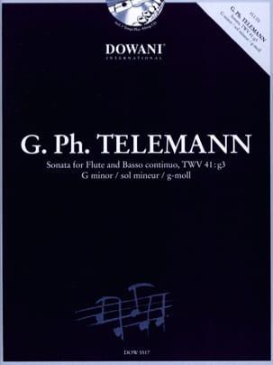 TELEMANN - Sonata In Sol Min. TWV41: g3 - Sheet Music - di-arezzo.com