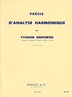 Yvonne Desportes - Accurate harmonic analysis - Sheet Music - di-arezzo.com