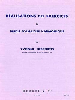 Yvonne Desportes - Achievements of the Harmonic Analysis Accuracy Exercises - Sheet Music - di-arezzo.co.uk