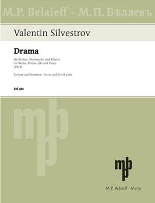 Drama (1971) - Valentin Silvestrov - Partition - laflutedepan.com