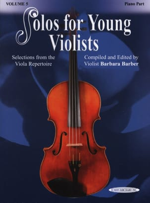 Barbara Barber - Solos For Young Violists Vol.5 - Sheet Music - di-arezzo.com