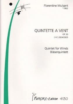 Florentine Mulsant - Wind Quintet Op 30 2004/2005 - Sheet Music - di-arezzo.co.uk