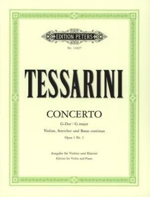 Concerto en Sol Majeur Opus 1 N° 3 Carlo Tessarini laflutedepan