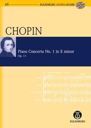 Concerto Pour Piano N°1 En Mi Min. Op.11 CHOPIN Partition laflutedepan