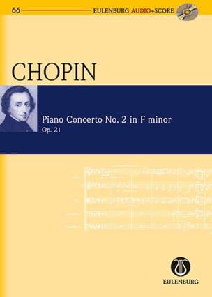 Concerto Pour Piano N°2 En Fa Min. Op.21 - CHOPIN - laflutedepan.com