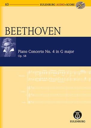 Concerto Pour Piano N°4 En Sol Maj. Op.58 - laflutedepan.com