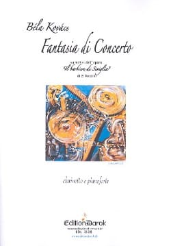Bela Kovacs - Fancy Concert On Rossini's Barber of Seville - Sheet Music - di-arezzo.com