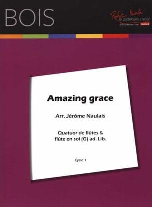 Amazing Grace - Arrgt. Flûtes Jérôme Naulais Partition laflutedepan