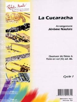 La Cucaracha - Arrgt. Flûtes Jérôme Naulais Partition laflutedepan