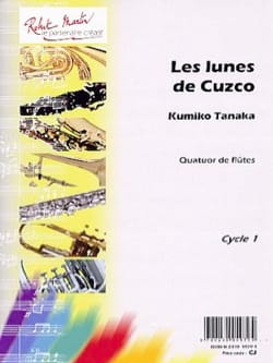 Kumiko Tanaka - The moons of Cuzco - Sheet Music - di-arezzo.com