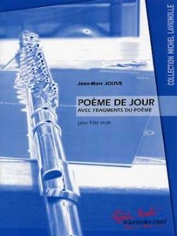 Jean-Marc Jouve - Poème de Jour - Partition - di-arezzo.fr