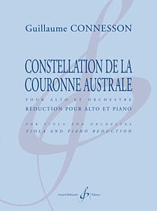 Guillaume Connesson - Constellation de la Couronne Australe - Partition - di-arezzo.fr
