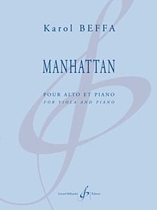 Karol Beffa - Manhattan - Partition - di-arezzo.fr