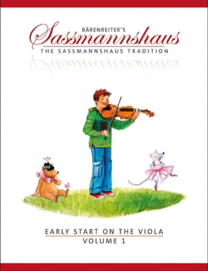egon sassmannshaus - Early Start On The Viola Volumen 1 - Partitura - di-arezzo.es