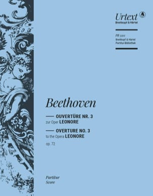 Ludwig van Beethoven - Leonore N° 3 Op. 72 Ouverture - Partition - di-arezzo.fr