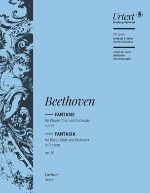 Fantaisie Op. 80 - Ludwig van Beethoven - Partition - laflutedepan.com