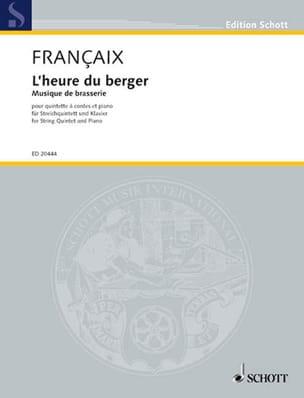 L'heure Du Berger FRANÇAIX Partition Sextuors - laflutedepan