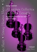 George Gershwin - A Gershwin Collection For Violin Ensemble - Partition - di-arezzo.fr