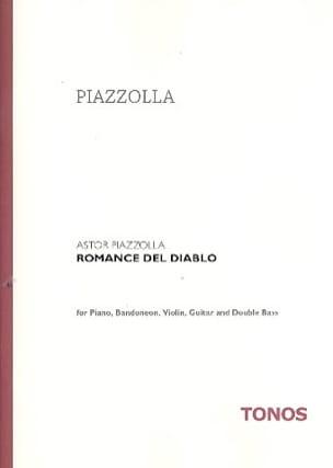 Romance Del Diablo Astor Piazzolla Partition Quintettes - laflutedepan