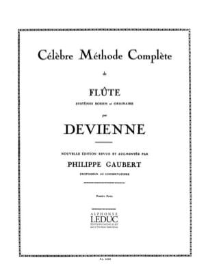 François Devienne - Méthode complète de Flûte - Volume 1 - Partition - di-arezzo.fr