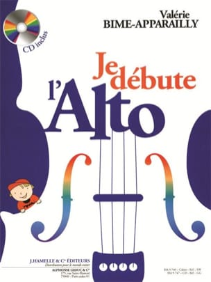 Valérie Bime-Apparailly - I start the Alto - Sheet Music - di-arezzo.co.uk