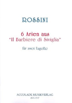 Gioacchino Rossini - 6 Arien aus The Barbiere di Siviglia - Sheet Music - di-arezzo.co.uk