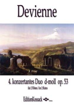Duo Concertant en Ré Min Op. 53 N°4 DEVIENNE Partition laflutedepan