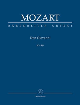 Don Giovanni – Partitur - MOZART - Partition - laflutedepan.com
