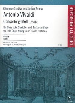 Concerto En Sol Min. Rv 812 - Antonio Vivaldi - laflutedepan.com
