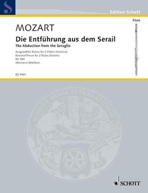 Wolfgang Amadeus Mozart - L'enlèvement au Sérail - Pièces Choises Kv 384 - Partition - di-arezzo.fr