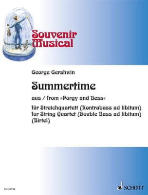 George Gershwin - Summertime Extr. Porgy And Bess - Partition - di-arezzo.fr