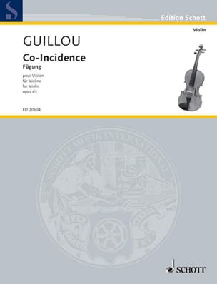 Co-Incidence Op. 63 - Jean Guillou - Partition - laflutedepan.com