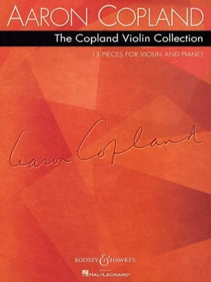 The Copland Violin Collection - COPLAND - Partition - laflutedepan.com