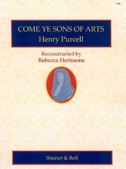Come Ye Sons Of Arts PURCELL Partition Grand format - laflutedepan