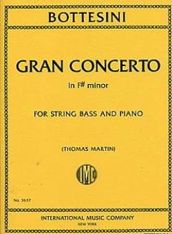 Giovanni Bottesini - Gran Concerto Fa# Min. - Partition - di-arezzo.fr