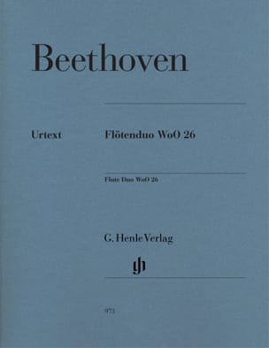 Ludwig van Beethoven - Duo pour flûtes WoO 26 - Partition - di-arezzo.fr
