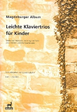 Magdeburger Album - Leichte Klaviertrios For Kinder Volume 1 - Partition - di-arezzo.com