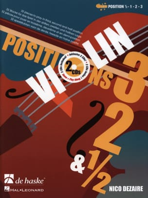 Nico Dezaire - Positions 3 - 2 - 1/2 - Sheet Music - di-arezzo.co.uk