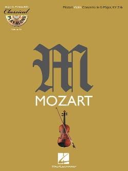 Concerto en Sol Maj. Kv 216 - MOZART - Partition - laflutedepan.com