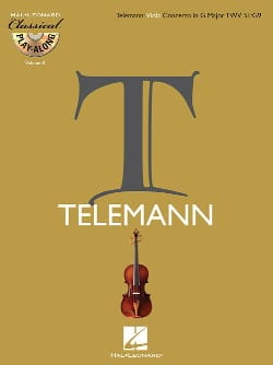 Georg Philipp Telemann - Concerto En Sol Maj. Twv 51:g9 - Partition - di-arezzo.fr