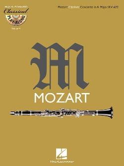 MOZART - Concerto en La Maj. Kv 622 - CD Inclus - Partition - di-arezzo.fr