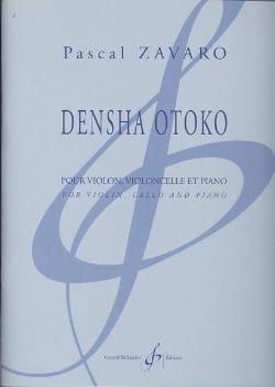 Pascal Zavaro - Densha Otoko - Partition - di-arezzo.fr