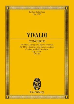 Antonio Vivaldi - Concerto c-moll - Partition - di-arezzo.fr