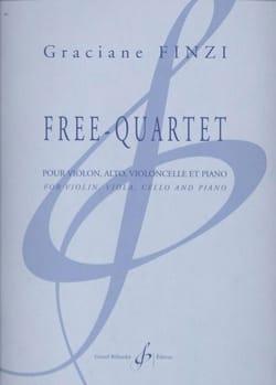 Free Quartet - Graciane Finzi - Partition - laflutedepan.com