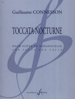 Guillaume Connesson - Toccata -Nocturne - Partition - di-arezzo.fr