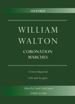 Coronation Marches - William Walton - Partition - laflutedepan.com
