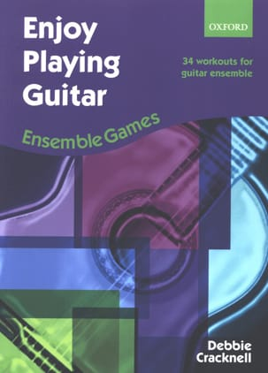 Debbie Cracknell - Enjoy Playing Guitar - Ensemble Games - Partition - di-arezzo.fr