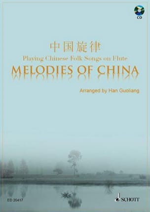 Melodies Of China - Flûte Traditionnel Partition laflutedepan